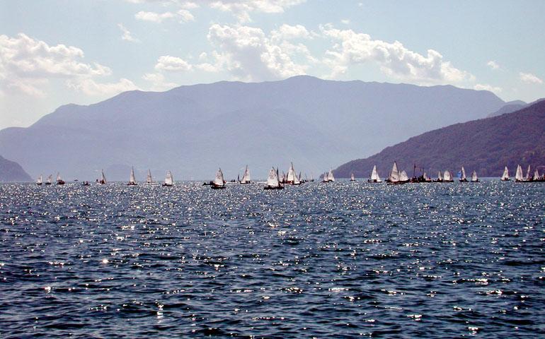Campo di regata Dervio